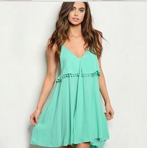 BOUTIQUE SALE Asymmetrical Swing Dress